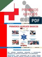Curso de Primeros Auxilios Basicos 2019 - Extinperu
