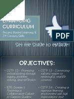 teacher leader presentation - enhancing curriculum revised