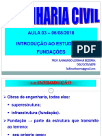 Aula 03-06-08-2018_ Introdução Ao Estudo Das Fundações_Tipos