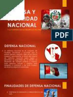Defensa y Seguridad Nacional