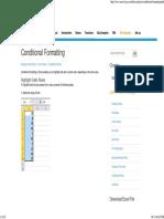 Excel Conditional Formatting - Easy Excel Tutorial