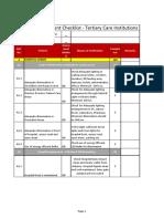 Kayakal Checklist