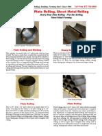 platerolling-sheetmetalrolling