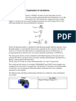 Explanation of Calculations
