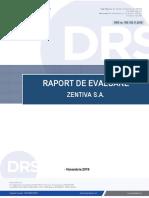 Raport Evaluare Zentiva S.A