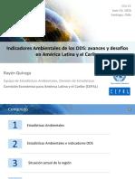 Indicadores Ambientales de los ODS