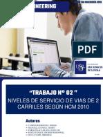 Analis de Niveles de Servicio Para Vias de 2 Carriles Hcm2010 (1)