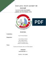 Informe Puentes Final