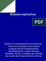 3. Modelos Explicativos