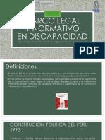 01 Marco Legal y Normativo en Discapacidad