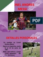 Diapositiva Leonel Messi