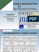 El modelo hidrológico distribuido TETIS 8..pptx