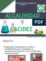 4 Alcalinidad y Acidez