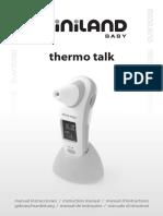 Instrucciones termómetro