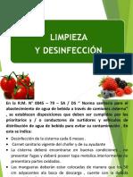Limpieza y Desinfeccion Agroindustrial