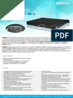 Ipm6000 Gbe Ip to Rf Modulator(Dvb-c, Dvb-t, Isdb-t, Atsc,Dtmb)