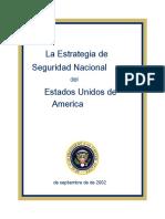 Estrategia de Seguridad Nacional 2002