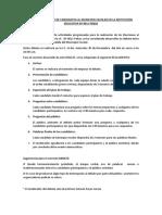 Exposición Debate de Candidatos Al Municipio Escolar en La Instituciòn Educativa Nª 0011 Pebas