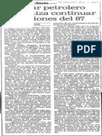 Edgard Romero Nava El Dolar Petrolero Garantiza Continuar Inversiones Del 87 - El Nacional 07.07.1987