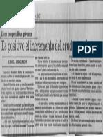 Es Positivo El Incremento Del Crudo Pesado - El Nacional 12.06.1987