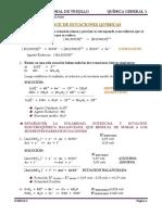 UNIDAD 3 TEMA 1 Balance de Ecuaciones Quimicas