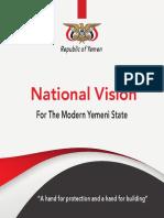 Yemen National Vision 2019