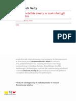 4 nurty metodologiczne
