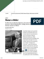 Matar a Hitler