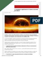 666_ Desvendando o Verdadeiro Significado Do 'Número Da Besta' e Outros Mitos Do Apocalipse - BBC Brasil