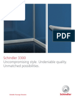Schindler 3300 Deco Brochure