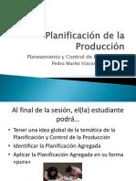 Planificación de La Producción A