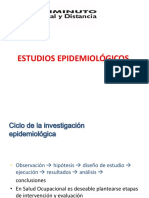 Presentación Tipos de Estudios en Epidemiologìa