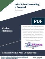 comprehensive school counseling program - board presentation