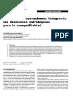 Logística de Operaciones-Integrando Las Decisiones Estratégicas Para La Competitividad