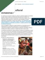 ¿Qué es el patrimonio cultural inmaterial? - patrimonio inmaterial - Sector de Cultura - UNESCO