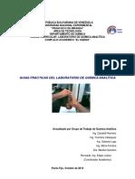 Practicas Laboratorio Quimica Analitica Unefm