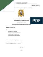 Informe 2 de Laboratorio de Fisica II  EXPERIENCIA DE MELDE (MOVIMIENTO VIBRATORIO) UNMSM