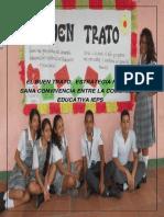 El Buen Trato, Estrategia Para La Sana Convivencia Entre La Comunidad Educativa