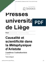 Couloubaritsis - Causalité et scientificité dans la Métaphysique.pdf