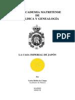 Robles Do Campo. La Casa Imperial de Japon