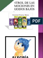 EL CONTROL DE LAS EMOCIONES EN   PERIODOS BAJOS.pptx