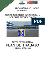 Plan de Trabajo Cist Laraqueri 2016