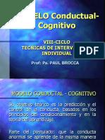 modelo cognitivo conductual usmp