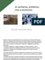 Instalaciones Sanitarias, Artefactos, Griferías y Accesorios