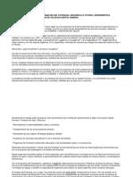 Evaluación Del Desempeño y Análisis Del Potencial