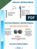 Politicas y Gestion Publica