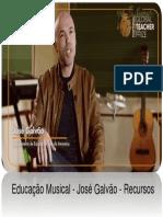 Global Teacher Prize - Jose Galvao