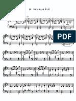 Villa-Lobos - Samba Lelê (PIANO)