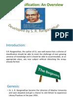 Colon Classification Ranganathan Srk2 160729085051