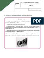 Guía Fábula 3°